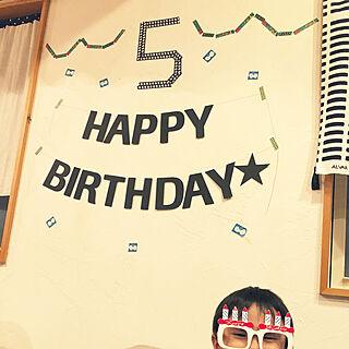女性40歳の、お誕生日飾りに関するYNさんの実例写真