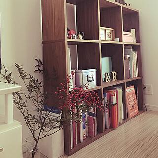 女性一人暮らし1K、無印良品 本棚に関するrisarisabowさんの実例写真