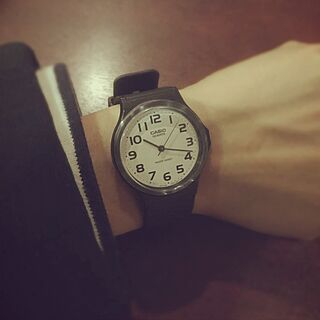 女性一人暮らし1LDK、CASIOの腕時計に関するneopipeさんの実例写真