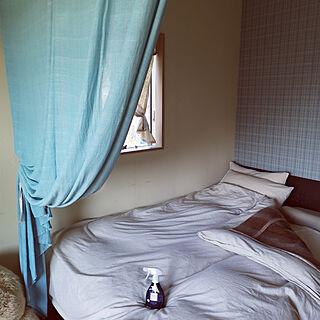女性の、Other、家族住まいの「ベッド周り」についてのインテリア実例