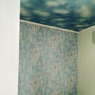 女性家族暮らし、空色の天井に関するmamechanさんの実例写真