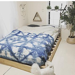 ベッド周り/パレットDIY/ビーチスタイル/流木/IKEA...などのインテリア実例 - 2017-10-16 08:36:28