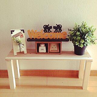 女性45歳の、端材で作った手作りベンチに関するNamiさんの実例写真