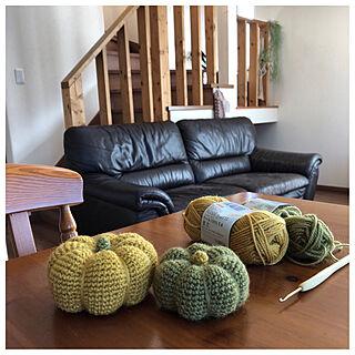 女性家族暮らし4LDK、木の机に関するkanaさんの実例写真