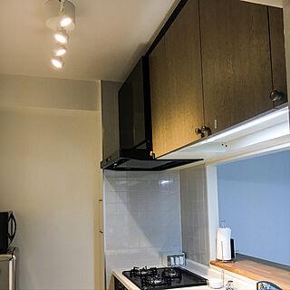 キッチン/初投稿/IKEA/照明/中古マンションのインテリア実例 - 2017-10-04 11:26:09