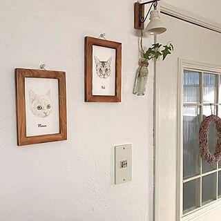 kurinekosanの作品/猫好きの方必見/ニャンズの似顔絵/アートギャラリー/猫と暮らす...などのインテリア実例 - 2020-10-25 17:36:37