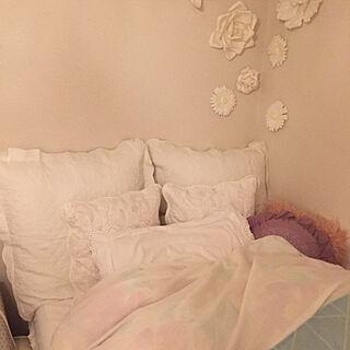 女性30歳の一人暮らし1K、白か好きに関するshi-さんの実例写真