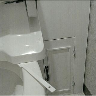 トイレから失礼します/匂いの原因は元から/すきまクロス/ブラシ・スポンジが届かない所のお掃除に。/Cainz...などのインテリア実例 - 2018-03-25 13:03:19