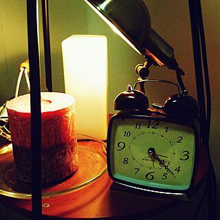 ベッド周り/かご大好き/アロマ♡/照明/飾り棚...などのインテリア実例 - 2014-09-01 22:45:36