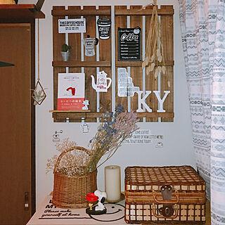 女性25歳の家族暮らし3DK、100均カゴに関するkanamiさんの実例写真