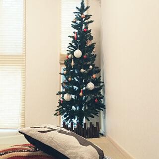 リビング/クリスマスツリー180cm/トイザらスマジソンスリムツリー/ニトリ/オーナメント...などのインテリア実例 - 2017-11-06 14:39:03