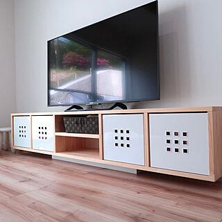 、IKEA薄型テレビ台に関するayadaysさんの実例写真