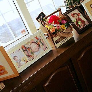 壁/天井/実家へ/母の日のプレゼント/たびたびスミマセン/母の日...などのインテリア実例 - 2017-05-13 12:19:33