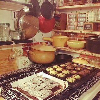 キッチン/団地部/カントリー/カフェ化計画/mt CASA...などのインテリア実例 - 2016-02-13 18:46:43