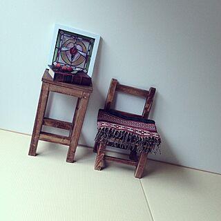 女性家族暮らし、stained. glassに関するmakikoさんの実例写真