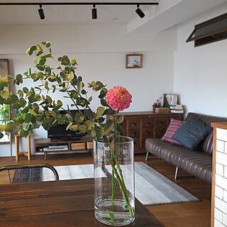 女性37歳の家族暮らし2LDK、中古家具に関するmalco.Azukiさんの実例写真