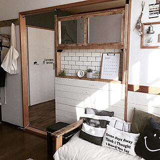 女性35歳の家族暮らし、小窓?に関するeri417kさんの実例写真