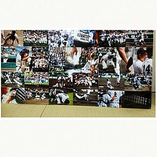 壁/天井/いいね&フォローありがとうございます☆/高校野球/写真♡のインテリア実例 - 2017-07-06 08:10:29