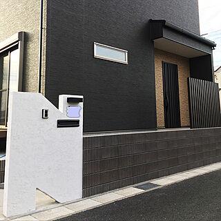 男性32歳の家族暮らし4LDK、家の門に関するyu-kingさんの実例写真