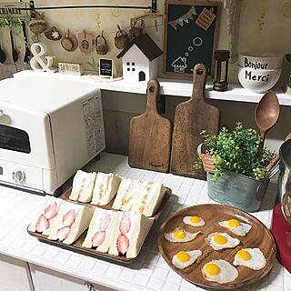 女性家族暮らし、いちごクリームサンドに関するsamanthakitchenさんの実例写真