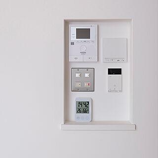 湿度計/デジタル時計/IKEA/スイッチ/フルカラーコンセント...などのインテリア実例 - 2021-08-26 09:28:09