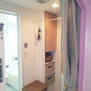 女性家族暮らし3LDK、トイレ 扉に関するmiyururu926さんの実例写真