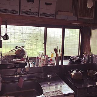 女性34歳の家族暮らし、柳宗理ファブリックに関するni_saさんの実例写真