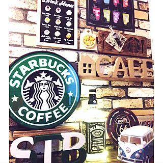 女性一人暮らし2DK、Starbucks に関するchika8476さんの実例写真