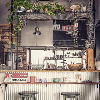 キッチンカウンターDIYの人気の写真(RoomNo.2205843)