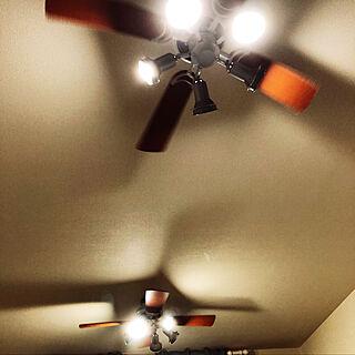 壁/天井/扇風機/DIY/Callfornia/西海岸インテリア...などのインテリア実例 - 2018-07-14 20:29:13