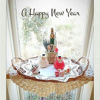 女性家族暮らし、2016年正月飾りに関するNEOtomoさんの実例写真