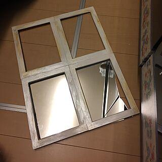 女性47歳の家族暮らし2LDK、窓枠を失敗したかも~!に関するemiさんの実例写真