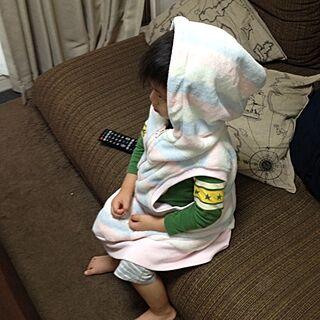 女性37歳の家族暮らし4LDK、部屋着に関するchikaさんの実例写真
