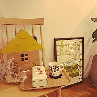 女性30歳の家族暮らし3LDK、木の家具に関するkaichannさんの実例写真