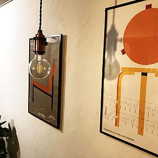 DIY/カフェ風/照明/壁/天井/The Rigna Wall...などのインテリア実例 - 2019-09-23 18:37:52