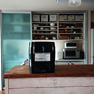 キッチン/RoomClipショッピング/夏のスペシャルクーポン/炊飯器/糖質カット炊飯器のインテリア実例 - 2021-09-09 10:49:25