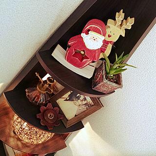 リビング/クリスマス/クリスマスディスプレイ/クリスマス雑貨/クリスマス飾り...などのインテリア実例 - 2017-11-02 13:24:43