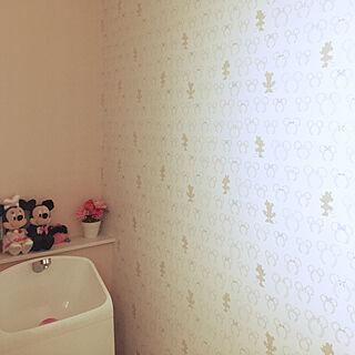 女性家族暮らし4LDK、ミニーに関するchikachikaさんの実例写真