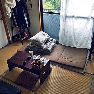 部屋全体/木製家具/畳/四畳半/和室...などのインテリア実例 - 2015-04-07 20:29:05