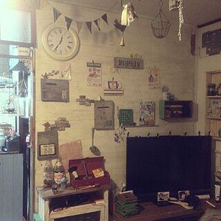 女性39歳の家族暮らし4DK、アンテイークに関するNego.chihomiさんの実例写真
