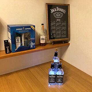 リビング/wild turkey/JACK DANIEL'S/Jigger Cup/DRY GIN...などのインテリア実例 - 2018-12-02 22:20:07