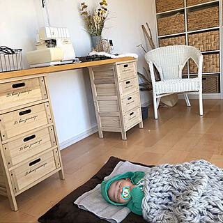 女性35歳の家族暮らし、赤ちゃんに関するMIPONさんの実例写真