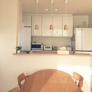 女性37歳の家族暮らし3LDK、トクラスキッチンに関するkilala_pさんの実例写真