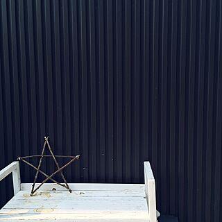 玄関/入り口/スター/星/ガルバリウムの家/ガルバリウム鋼板/ガルバ...などのインテリア実例 - 2016-07-30 17:40:14