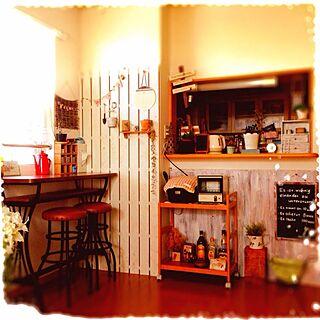 部屋全体/おうちカフェ/手作り/板壁/すのこリメイク...などのインテリア実例 - 2013-11-25 22:45:28