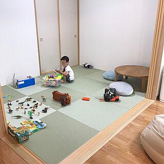 部屋全体/新築マンション/狭小マンション/和室/5畳...などのインテリア実例 - 2018-06-05 20:08:38