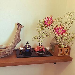 女性家族暮らし、正月のお花飾りました。に関するmocoさんの実例写真