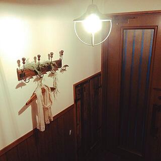 女性家族暮らし2LDK、天井飾りに関するayano.yuna.moisさんの実例写真