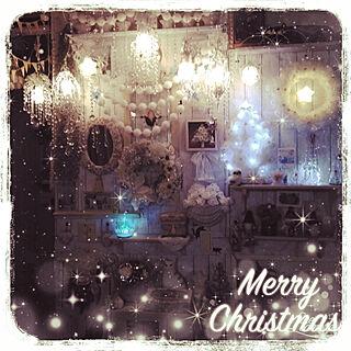 リビング/クリスマス/ハンドメイド/ワイヤークラフト/いいねの押し逃げごめんなさい...などのインテリア実例 - 2018-12-23 17:59:52