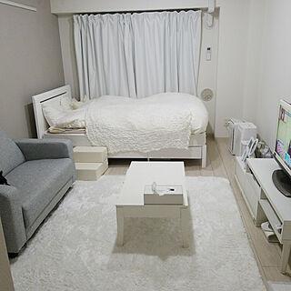 女性一人暮らし1K、一人暮らしに関するnanasuke0106さんの実例写真